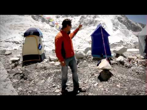 Everest basecamp –  Mt Everest – Webisode 6