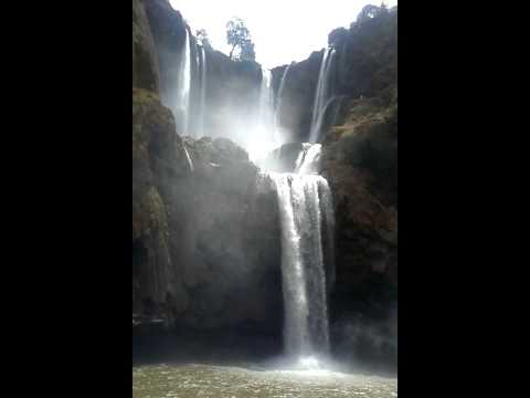Ozoud Waterfalls in Morocco