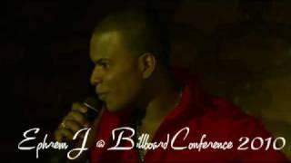 Ephrem J - ME ENTREGO ( Live ) Billboard 2010 New bachata