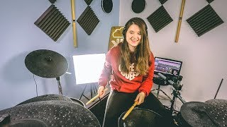 Happier - Marshmello ft. Bastille - Drum Cover x Beat Saber | TheKays