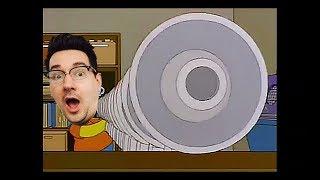 Bart's megaphone testing but it's a PRETTY GOOD JOB