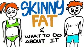 Skinny Fat Explained - Dealing with Being Skinny but Belly Fat Lingers
