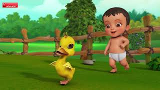 Chinni Chinni Baathu | Telugu Rhymes for Children | Infobells width=