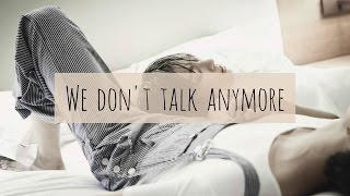 We Don't Talk Anymore - Jungkook Cover [Lyrics]