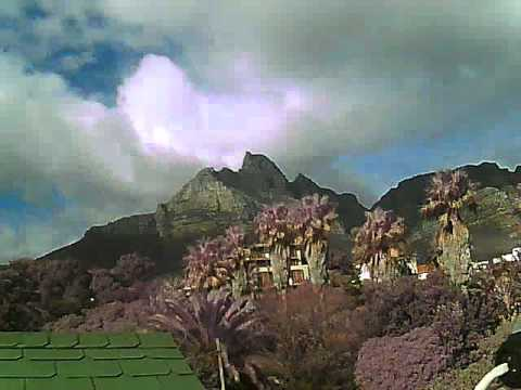 Timelapse Video – Table Mountain – 25/06/2011
