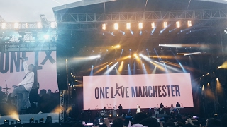 """Ariana Grande - Side To Side (HD) Live """"One Love"""" Manchester 4.6.17 