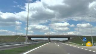 Mouvee - free stock footage - driving along highway