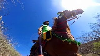 cRaZY HoRSe GaNgs Second Annual Rock and Roll St. Patrick's Day Trail Ride