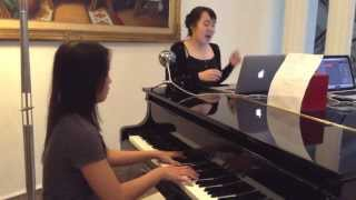 PART OF YOUR WORLD by Alan Menken Cover