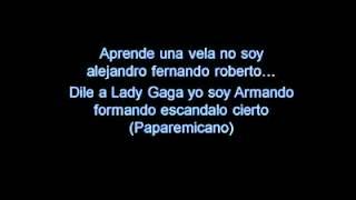 Pitbull - Bon, Bon  -  Lyrics ( We no speak americano)