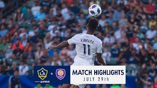 HIGHLIGHTS: LA Galaxy vs. Orlando City SC   July 29, 2018