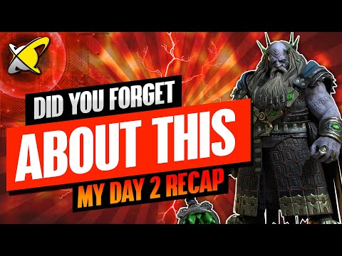 DID YOU FORGET ABOUT THIS ? | Underpriest Brogni Day 2 Recap | BGE's Guides | RAID: Shadow Legends