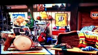 E.B. drumming to Good Charlotte