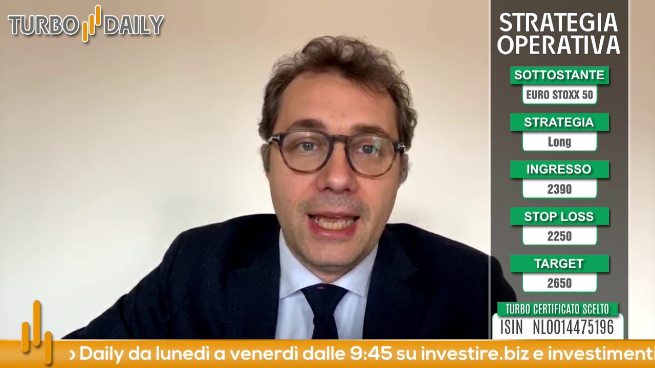 Turbo Daily 23.03.2020 - Long su EURO STOXX 50