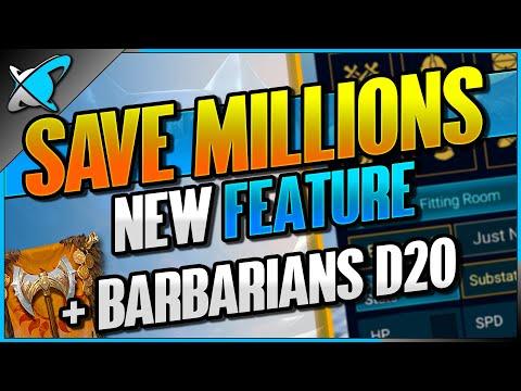 SAVE MILLIONS... Major NEW Feature ! | NO EFFORT Barbarians Dragon 20 Team | RAID: Shadow Legends