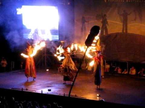 """Kiev Fire Fest 2011 – Bulgaria, """"Firetere"""" team"""