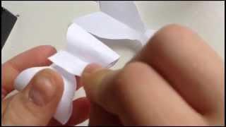Rosett av papper