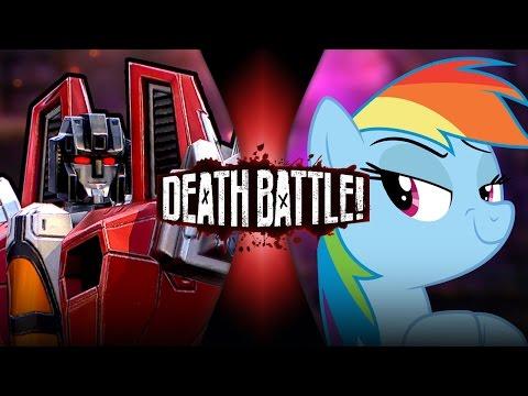 DEATH BATTLE! - Starscream VS Rainbow Dash