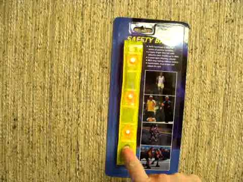 Super Bright LED Safety Arm Band