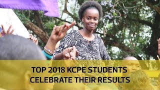 Top 2018 KCPE students celebrate their results