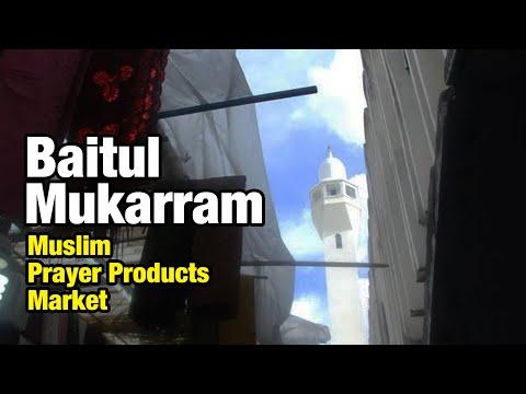 Bitul Mukarram Mosque Market