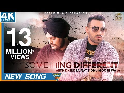 Something Different Lyrics - Arsh Dhindsa | Sidhu Moose Wala