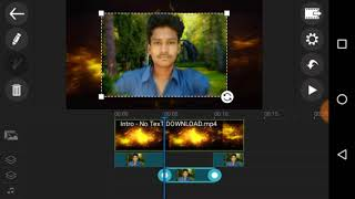 How to edit a videos in power director in telugu