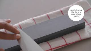 A video on How to Sharpen Knives