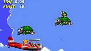 Let's Play Sonic the Hedgehog 2: Sky Chase Zone
