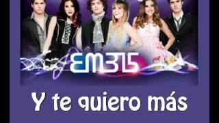 Y Te Quiero Más EME15 Letra twitter @AlejandroGoparX