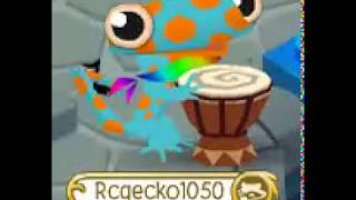 animal jam-Remix slip of the GECKO! song