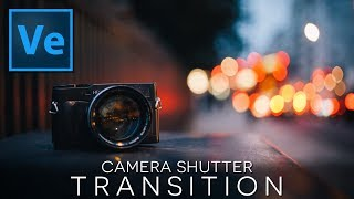 Learn QUICK & EASY Camera Shutter Transition! Sony Vegas Tutorial