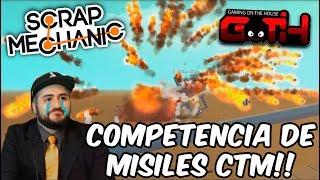 BATALLAS EXPLOSIVAS! Scrap Mechanic en Español - GOTH