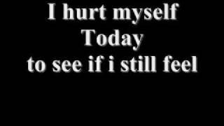 Johny Cash Hurt with lyrics