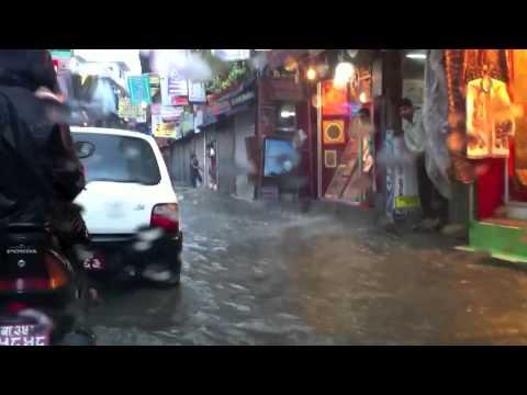 Kathmandu in the Rainy Season