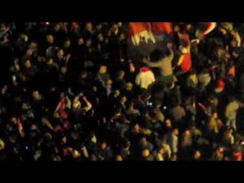Street Celebration-Egypt beats Algeria 4-0