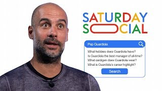 Pep Guardiola Answers the Web's Most Searched Questions About Him | Autocomplete Challenge