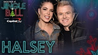 Halsey on Her New Track w/ Boyfriend G-Eazy, 'Him & I' | KIIS FM's Jingle Ball