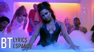 Demi Lovato - Sorry Not Sorry (Lyrics + Español) Video Official