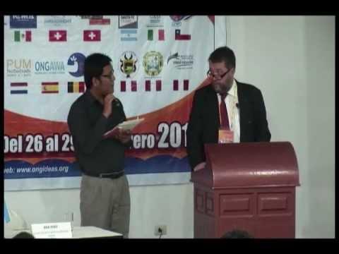 ONG IDEAS PERU-Conferencia Dr. Maciej Borsa, Warsaw School of Economic-V SEMINARIO INTERNACIONAL