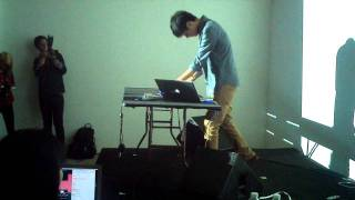 Nosaj Thing - The Creators Project 2011 DUMBO (Live) pt.2.mp4