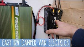 HOW TO 12V Camper Van System SMART ALTERNATOR - UPDATE/REFRESH + Wire Diagram!