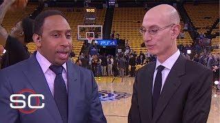 Adam Silver on NBA's global reach, Kawhi, LeBron-less Finals, renaming NBA team owners | SC