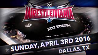 اغنية عرض راسلمينيا 32-Wrestlemania Official Theme Song (My House)