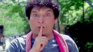 Asrani beaten up by a Lady - Imtihaan Comedy Scene 10/13
