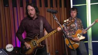 "Caveman performing ""Never Going Back"" Live on KCRW"