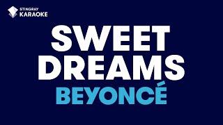 Sweet Dreams in the style of Beyonce karaoke video version