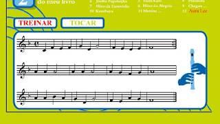 12 - Aura Lee | Treinar | Vamos Tocar... Flauta de Bisel