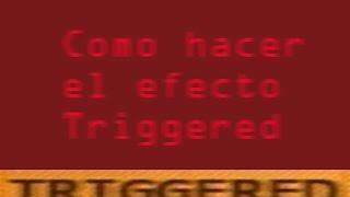 """/Tutorial/ - Como hacer el efecto """"Triggered"""" con PhotoShop."""