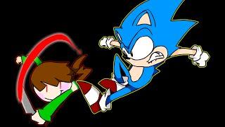[Undertale Animation] Sonic's Judgement